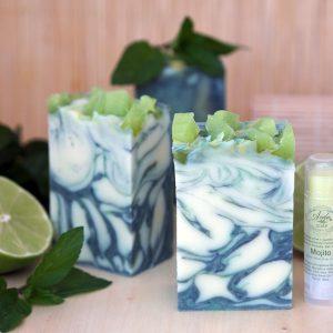 натурален сапун с масло от Авокадо и Манго, аромат на Мохито